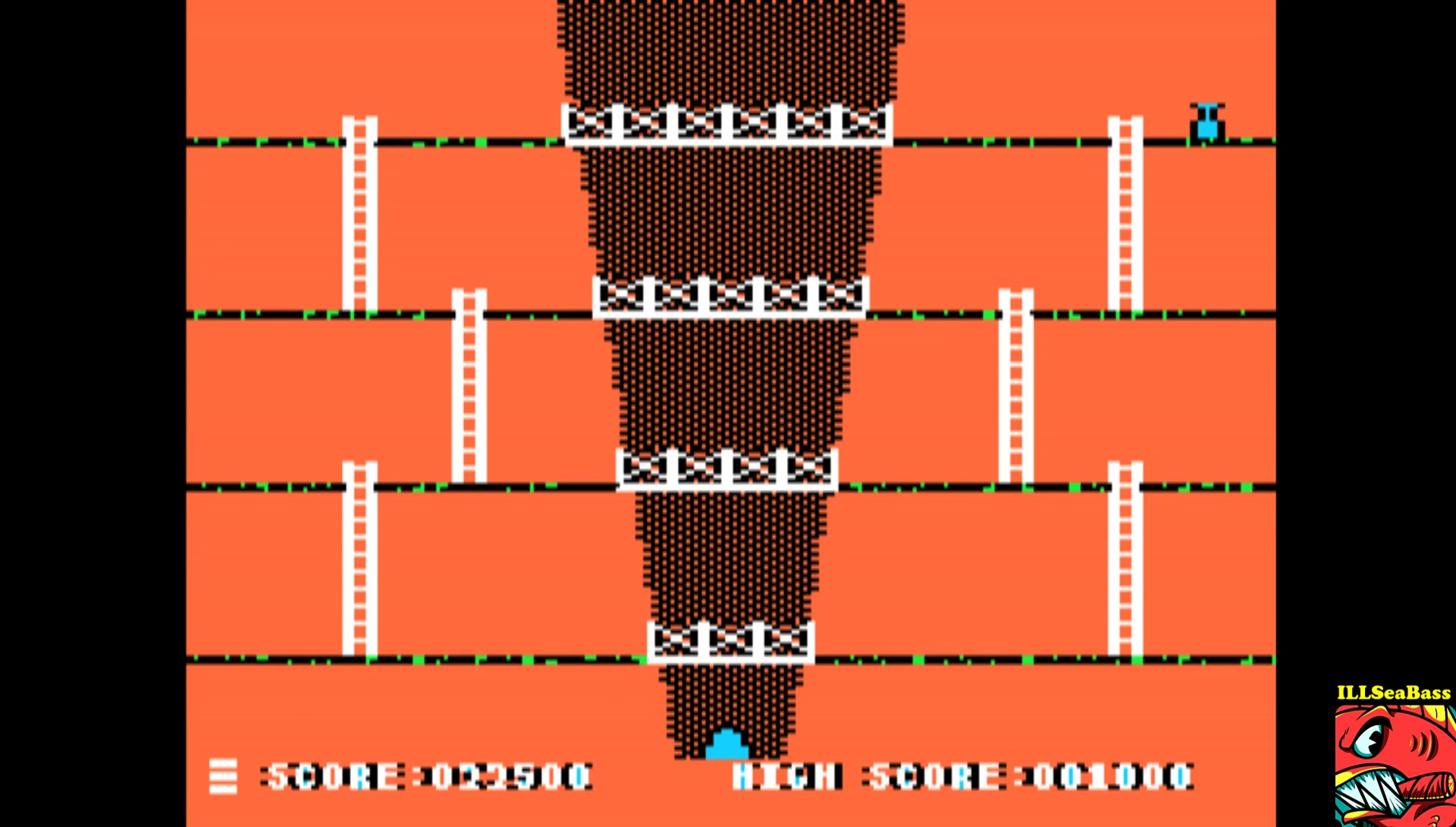 ILLSeaBass: Canyon Climber (Apple II Emulated) 22,500 points on 2017-03-25 22:07:07
