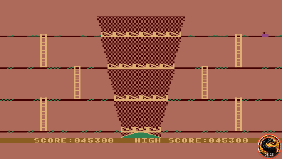 omargeddon: Canyon Climber (Atari 400/800/XL/XE Emulated) 45,300 points on 2019-06-09 20:52:07
