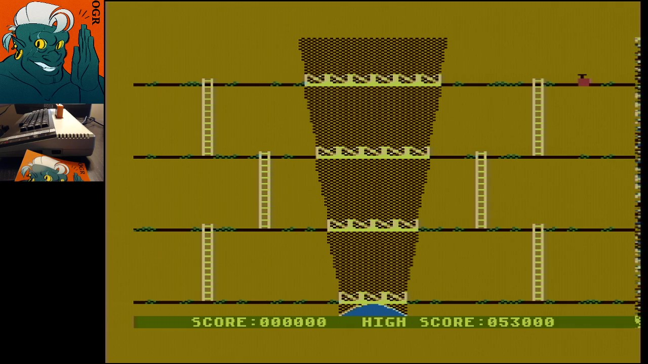 AwesomeOgre: Canyon Climber (Atari 400/800/XL/XE) 53,000 points on 2020-02-29 09:44:15