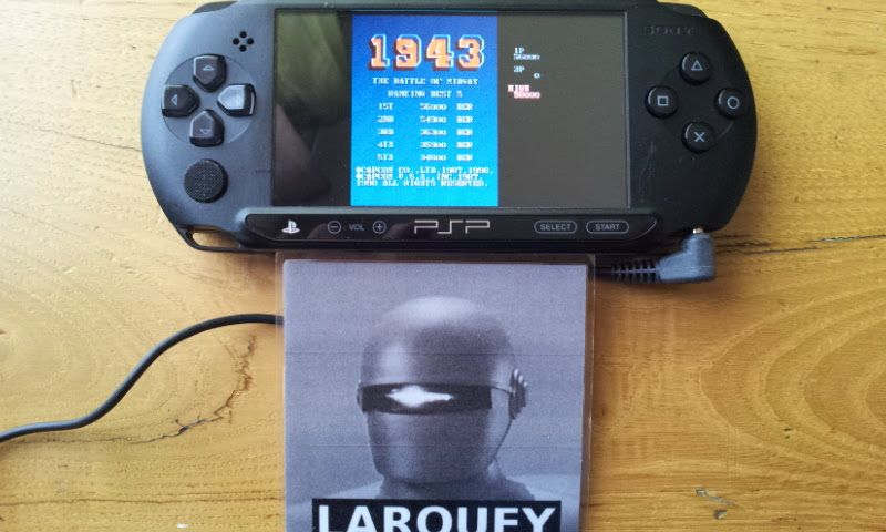 Larquey: Capcom Classics Collection Reloaded: 1943 (PSP) 56,000 points on 2018-03-25 12:41:30
