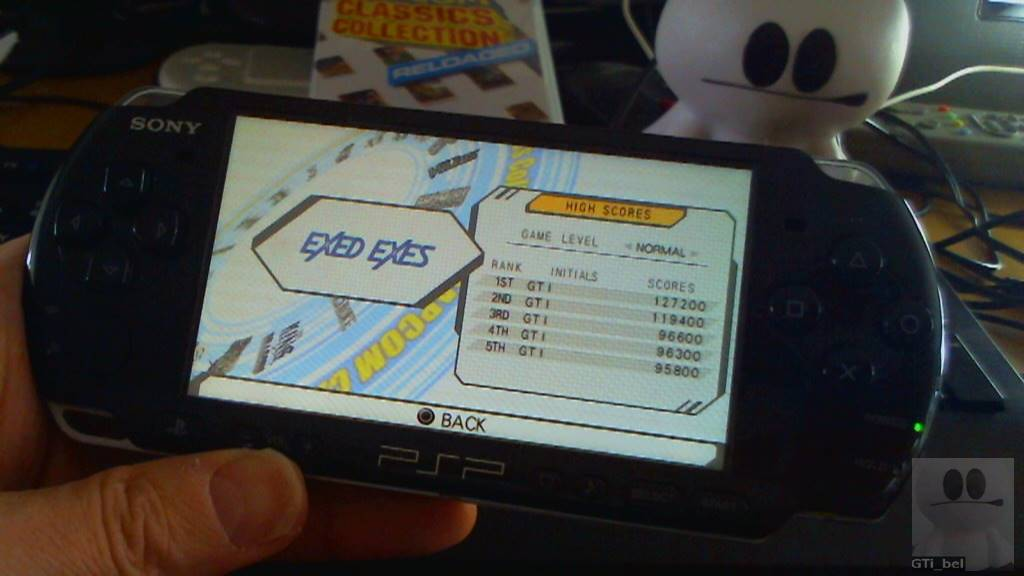 GTibel: Capcom Classics Collection Reloaded: Exed Exes (PSP) 127,200 points on 2018-03-26 09:14:19
