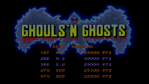 Sophia: Capcom Classics Collection Reloaded: Ghouls N Ghosts (PSP) 23,100 points on 2016-02-16 11:08:00