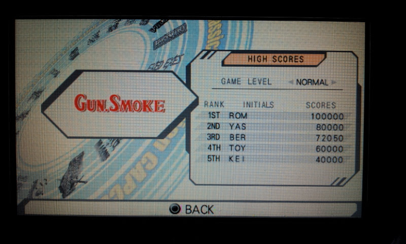 Capcom Classics Collection Reloaded: Gun.Smoke 72,050 points
