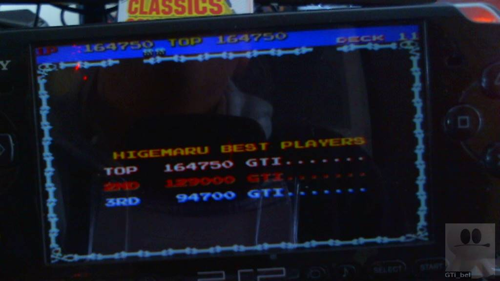 GTibel: Capcom Classics Collection Reloaded: Higemaru (PSP) 164,750 points on 2018-04-14 04:34:17