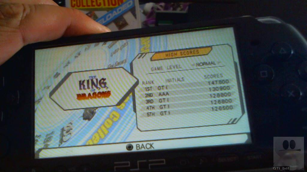 GTibel: Capcom Classics Collection Reloaded: The King of the Dragons (PSP) 147,800 points on 2018-05-16 09:11:40