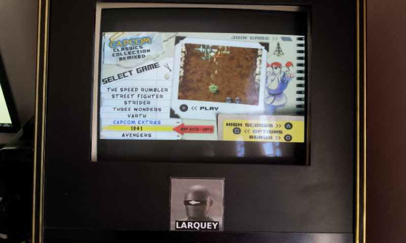 Larquey: Capcom Classics Collection Remixed: 1941 [Game Settings Normal] (PSP Emulated) 449,600 points on 2018-04-07 10:01:56