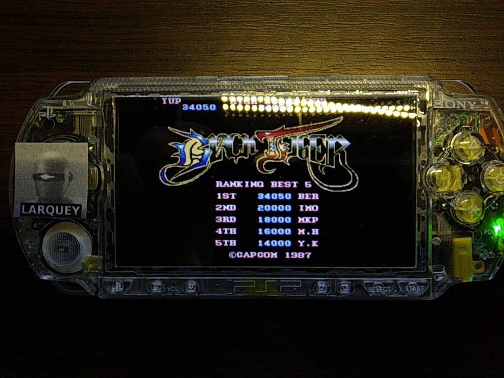 Larquey: Capcom Classics Collection Remixed: Black Tiger (PSP) 34,050 points on 2019-09-28 13:29:31