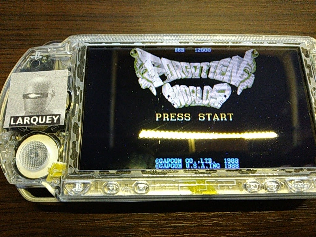 Larquey: Capcom Classics Collection Remixed: Forgotten Worlds (PSP) 12,800 points on 2019-09-28 13:32:00