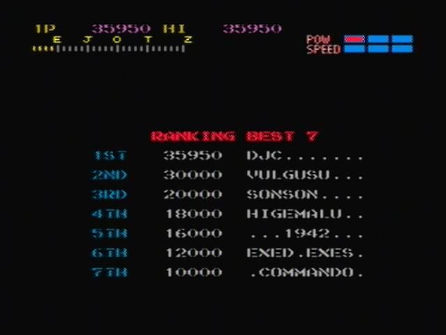 derek: Capcom Classics Vol 1: Section Z (Playstation 2) 35,950 points on 2016-03-09 13:21:32