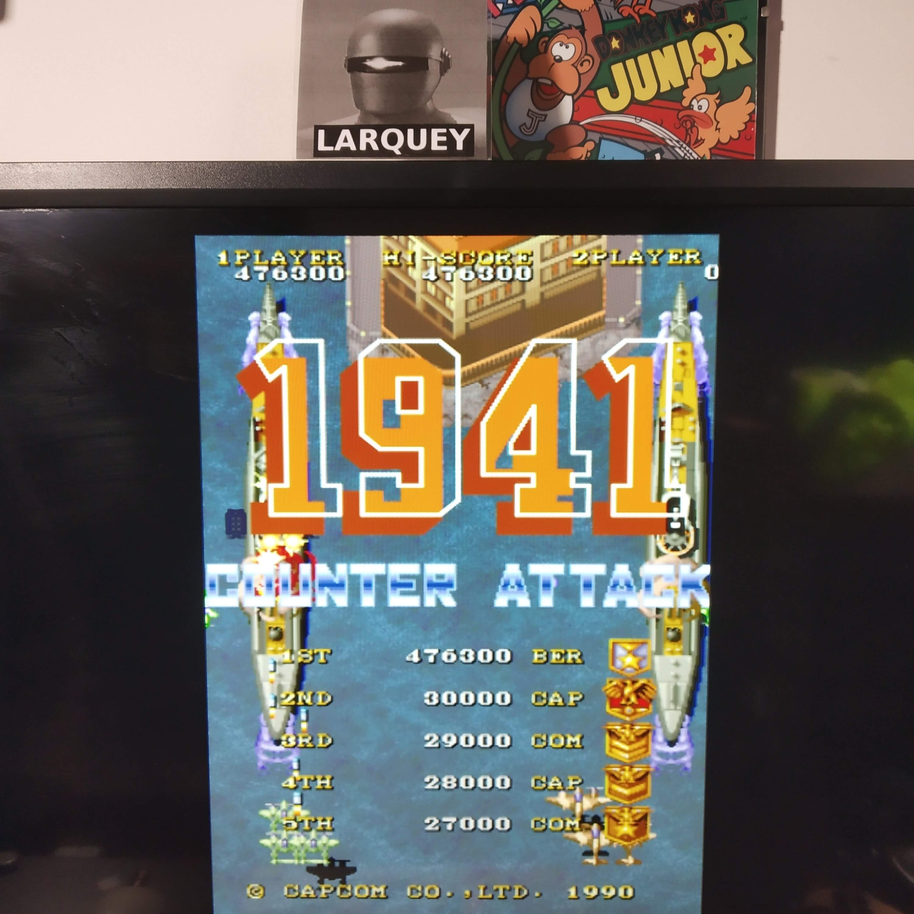 Larquey: Capcom Classics Vol 2: 1941 Counter Attack [Easiest] (Playstation 2 Emulated) 476,300 points on 2020-08-12 13:11:10
