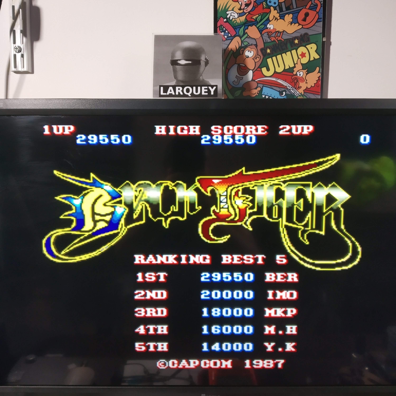 Larquey: Capcom Classics Vol 2: Black Tiger [Easiest] (Playstation 2 Emulated) 29,550 points on 2020-08-12 14:01:49