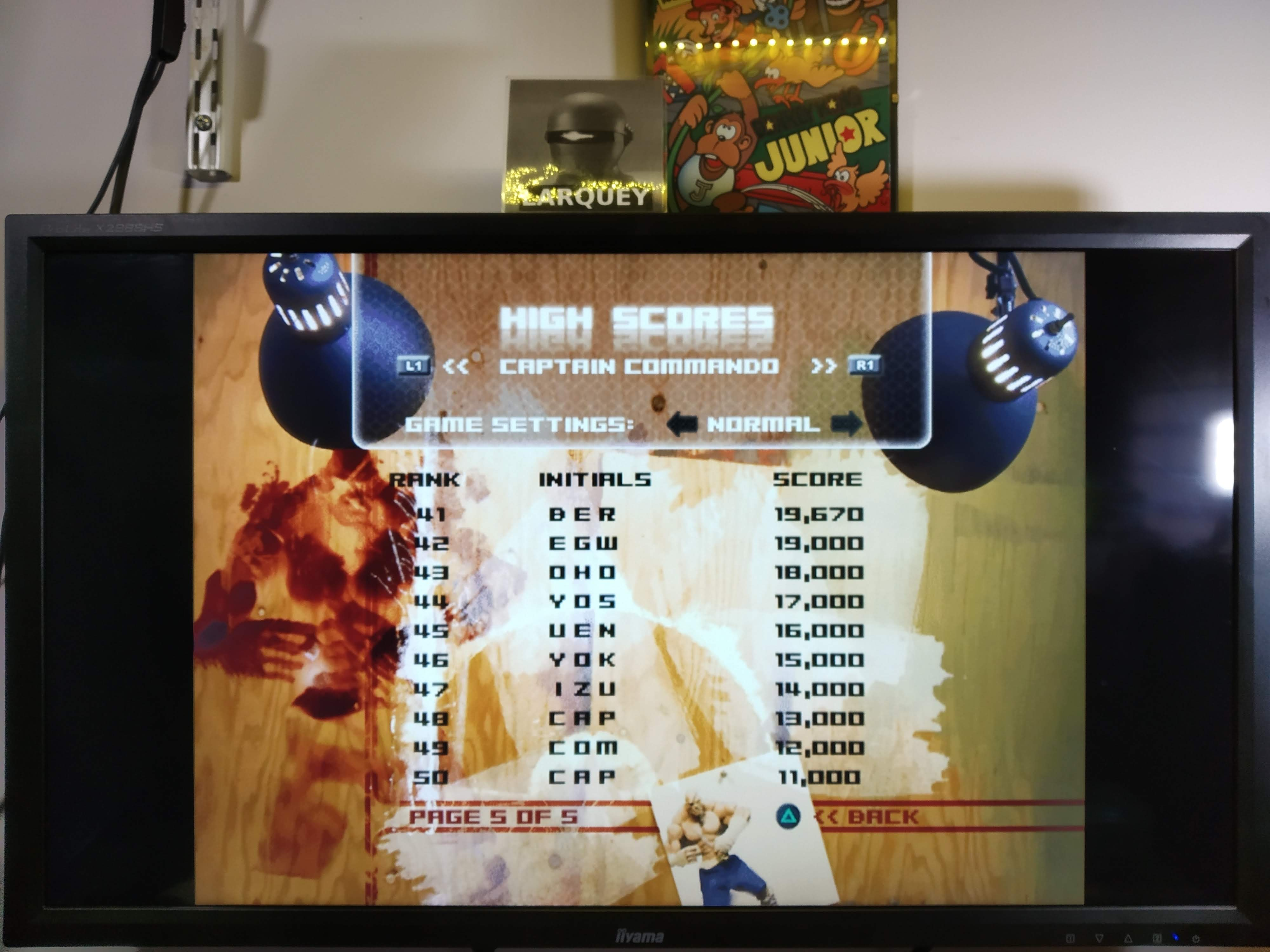 Larquey: Capcom Classics Vol. 2: Captain Commando [Normal] (Playstation 2 Emulated) 19,670 points on 2020-08-01 13:45:12