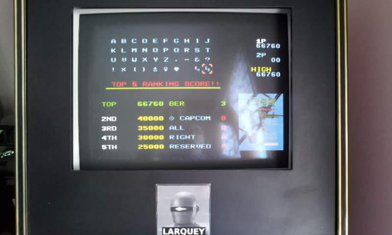 Larquey: Capcom Generations 1: 1942 (Sega Saturn Emulated) 66,760 points on 2018-05-20 09:53:10