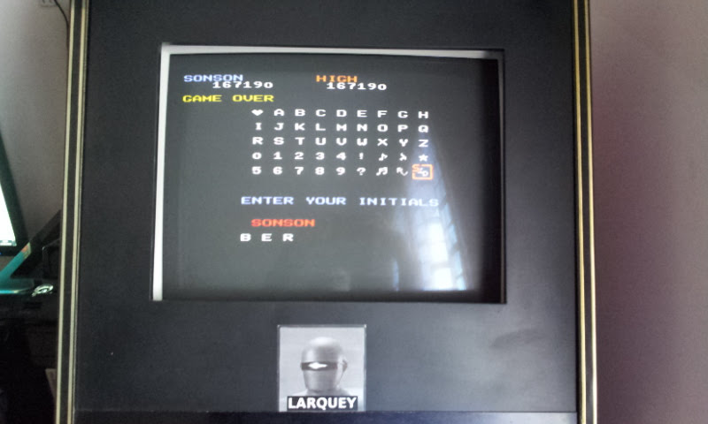 Larquey: Capcom Generations 3: SonSon (Playstation 1 Emulated) 167,190 points on 2018-02-03 08:39:04