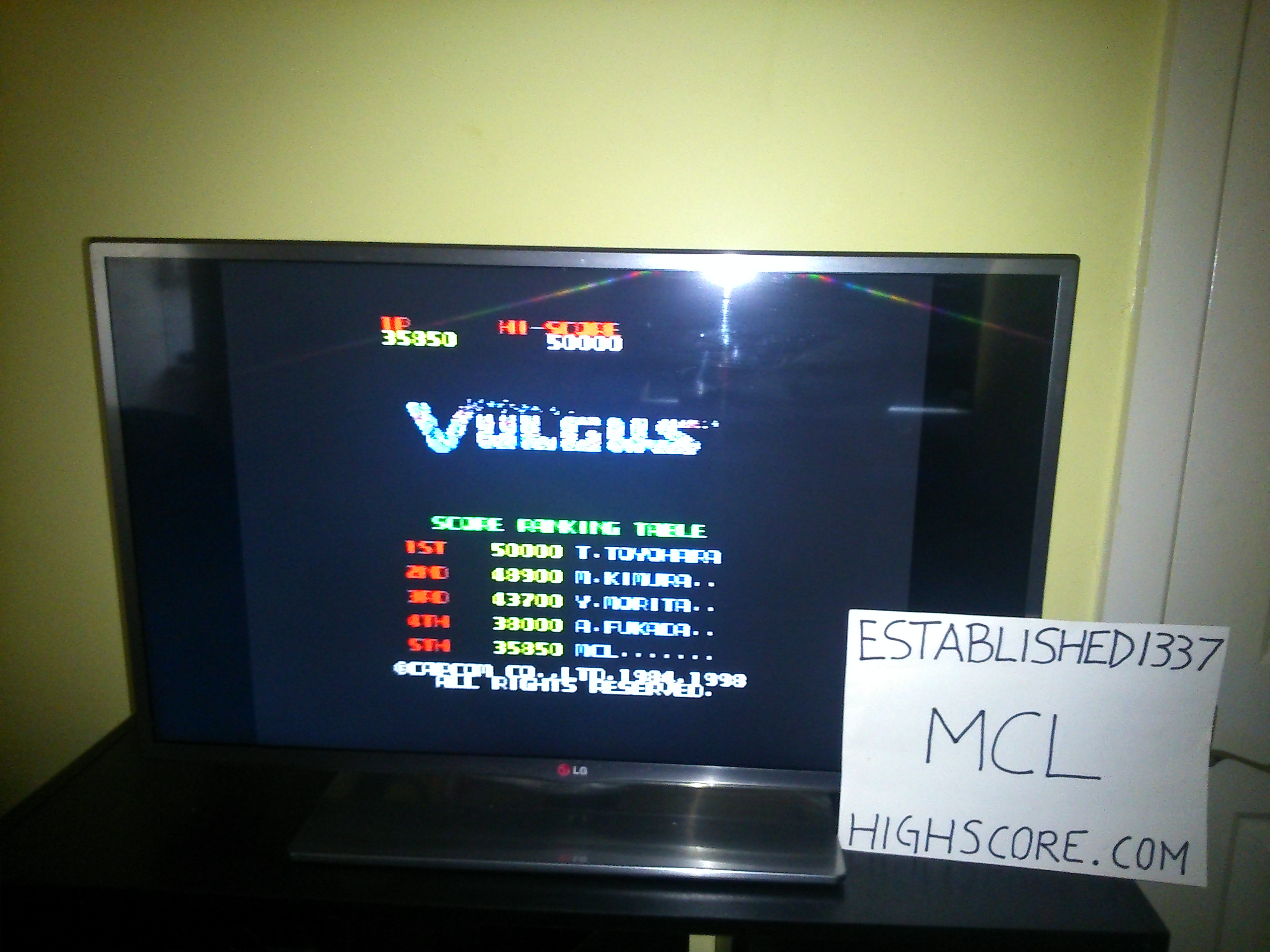 Capcom Generations 3: Vulgus 35,850 points