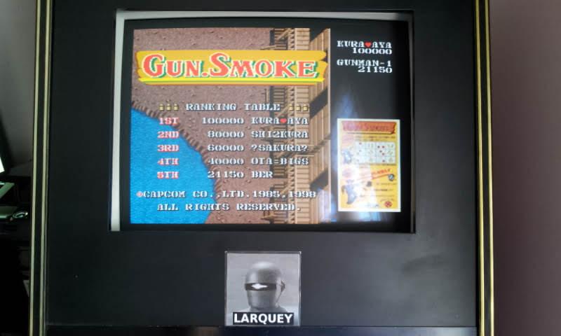 Larquey: Capcom Generations 4: Gun Smoke (Sega Saturn Emulated) 21,150 points on 2018-05-20 09:58:17