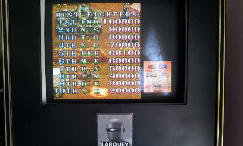 Larquey: Capcom Generations 4: Mercs (Sega Saturn Emulated) 68,100 points on 2018-05-20 09:55:04