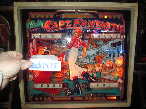 ed1475: Capt. Fantastic (Pinball: 3 Balls) 54,850 points on 2019-11-26 18:08:10