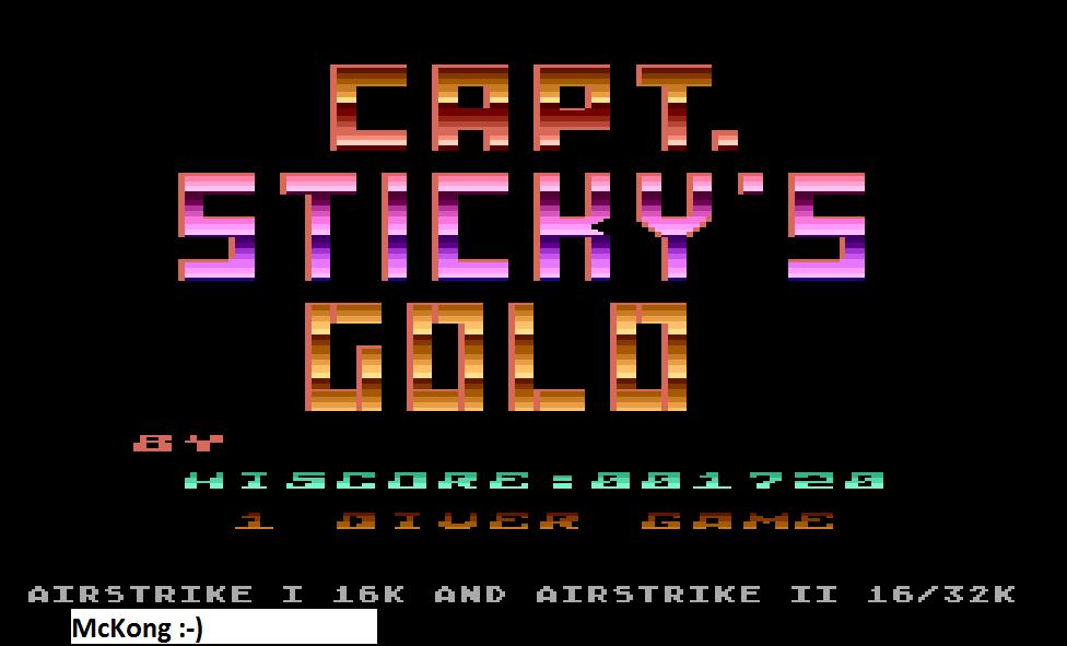 Capt. Sticky