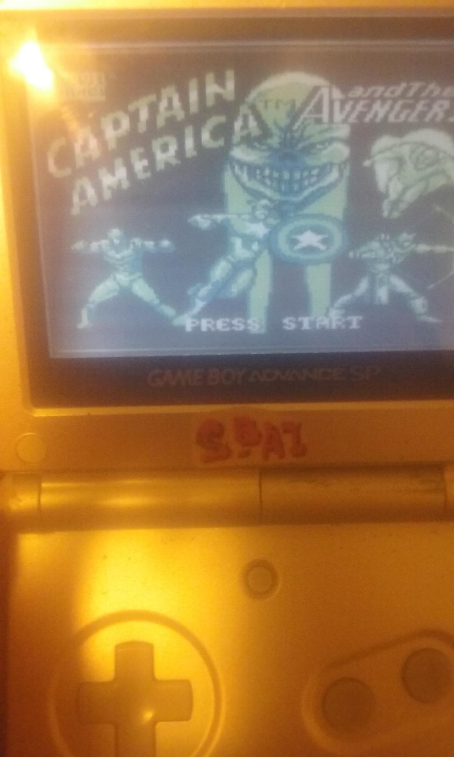 S.BAZ: Captain America and The Avengers (Game Boy) 7,575 points on 2021-02-27 14:48:34