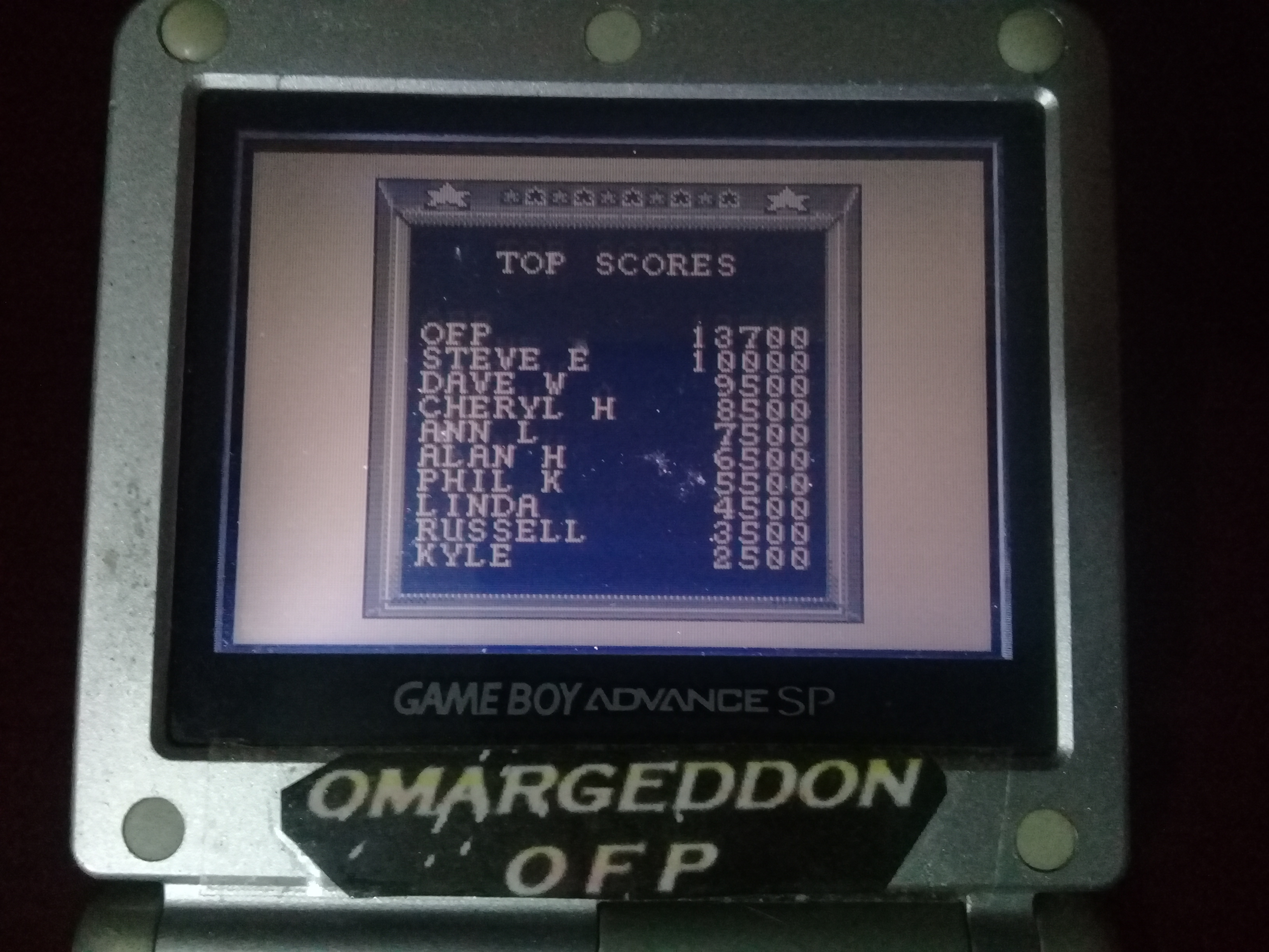 omargeddon: Captain America and The Avengers (Game Boy) 13,700 points on 2020-05-10 11:13:15