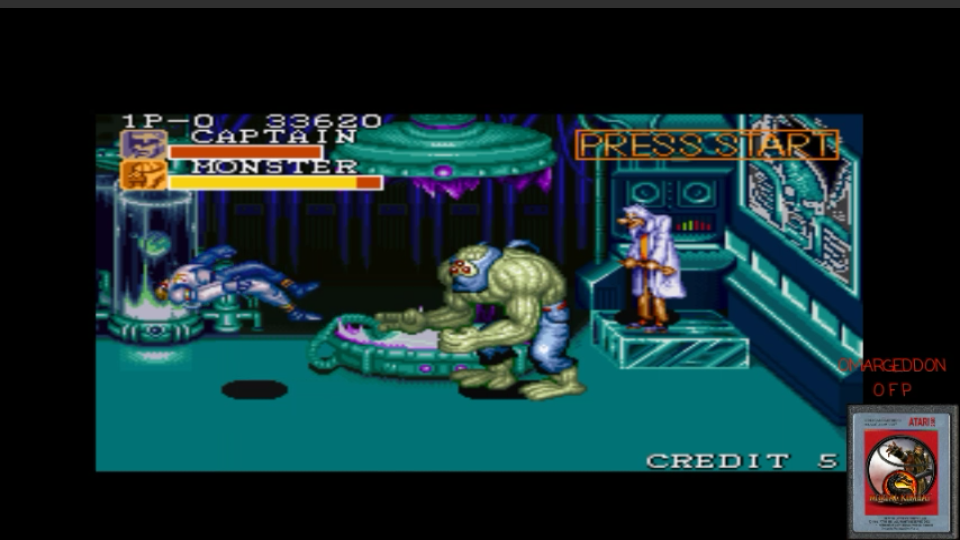 omargeddon: Captain Commando [Easy] (SNES/Super Famicom Emulated) 33,620 points on 2017-02-25 10:13:16