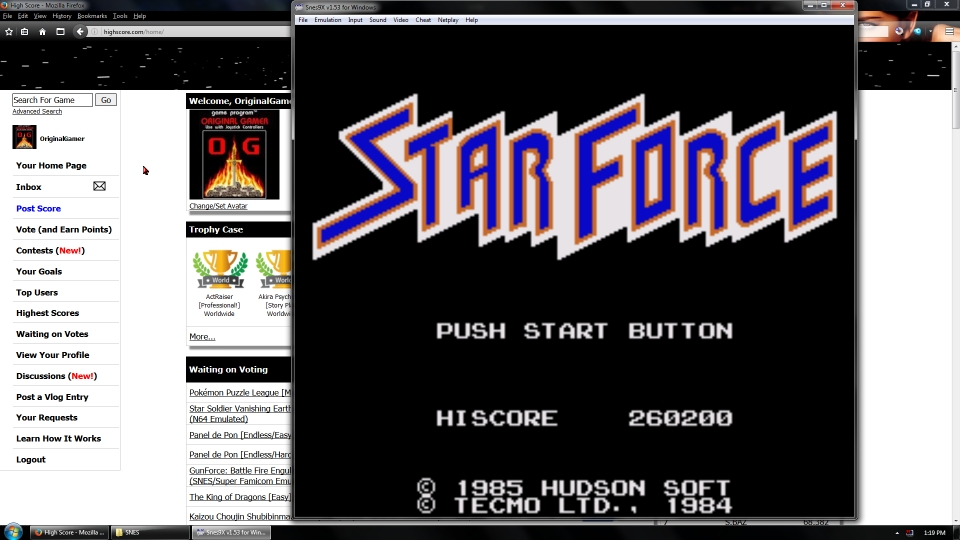 OriginalGamer: Caravan Shooting Collection [Star Force] (SNES/Super Famicom Emulated) 260,200 points on 2016-07-10 01:36:17
