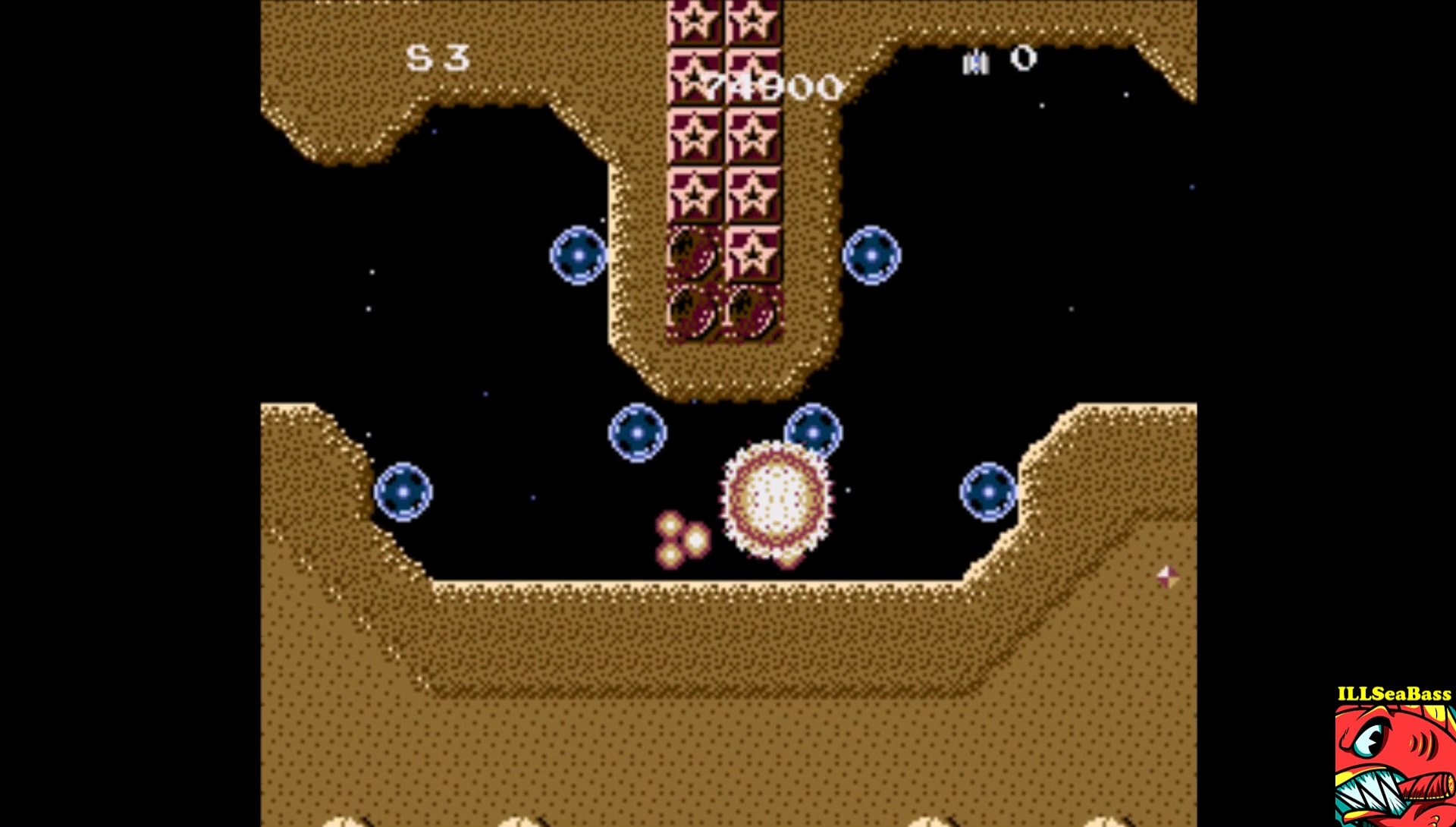 ILLSeaBass: Caravan Shooting Collection [Star Soldier] (SNES/Super Famicom Emulated) 74,900 points on 2017-06-19 22:03:02