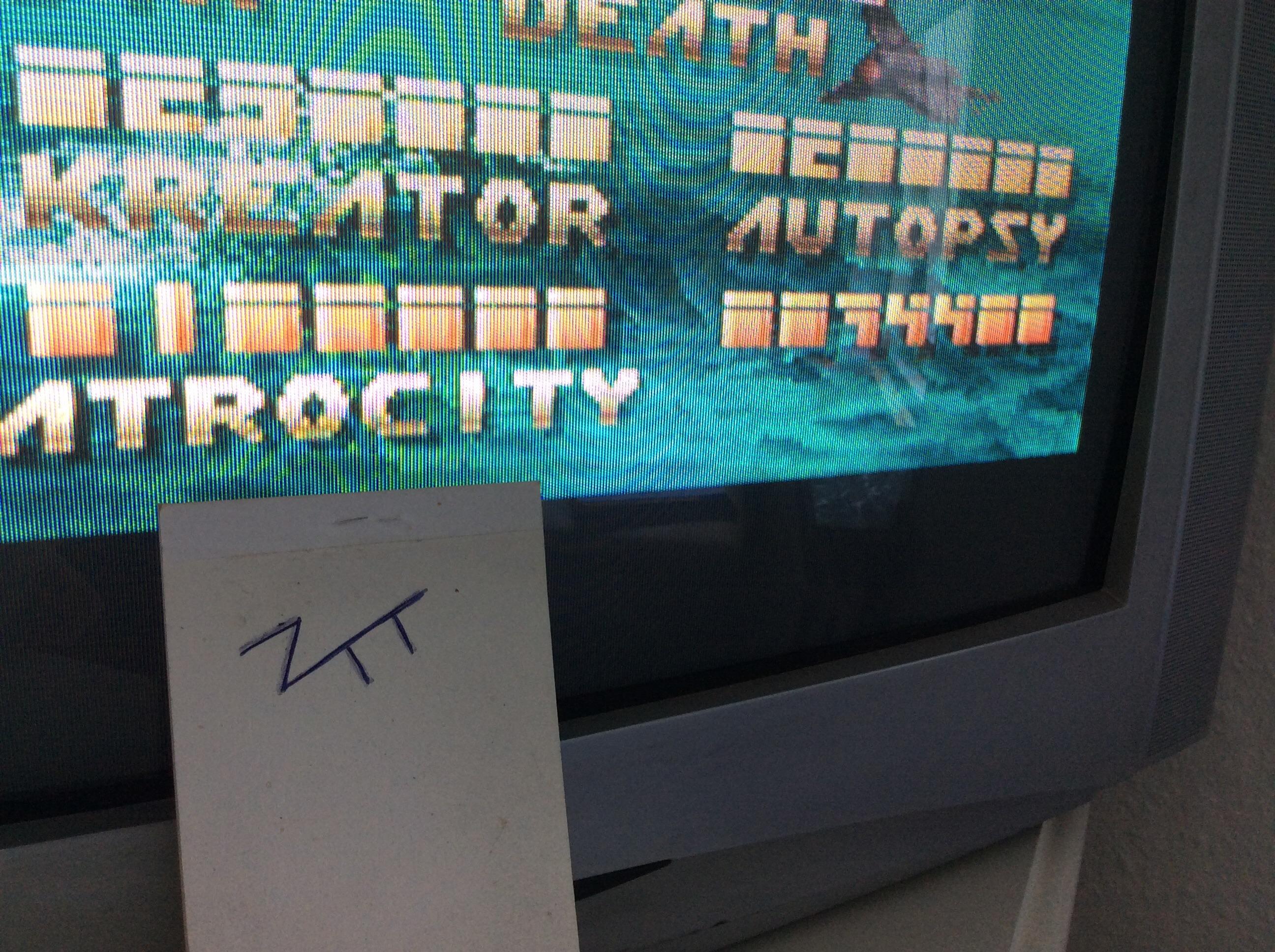 Frankie: Carcharodon: White Sharks (Amiga) 74,400 points on 2016-07-28 05:33:49