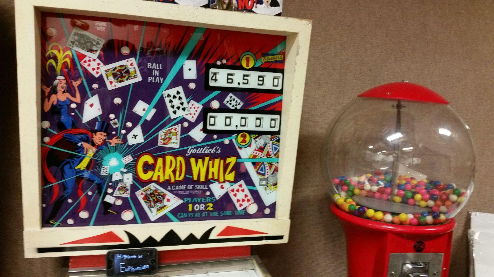 Card Whiz [Gottlieb] 46,590 points