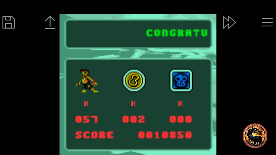 omargeddon: Carmageddon (Game Boy Color Emulated) 10,850 points on 2019-05-28 21:57:08