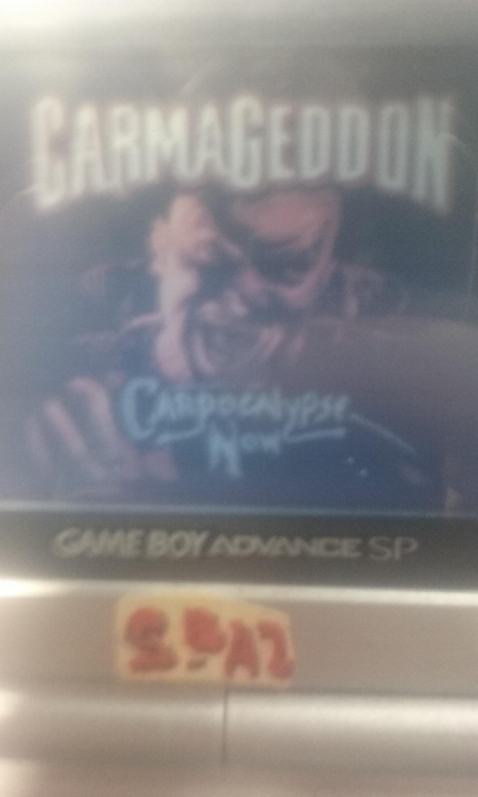 S.BAZ: Carmageddon (Game Boy Color) 2,300 points on 2019-08-14 22:19:19