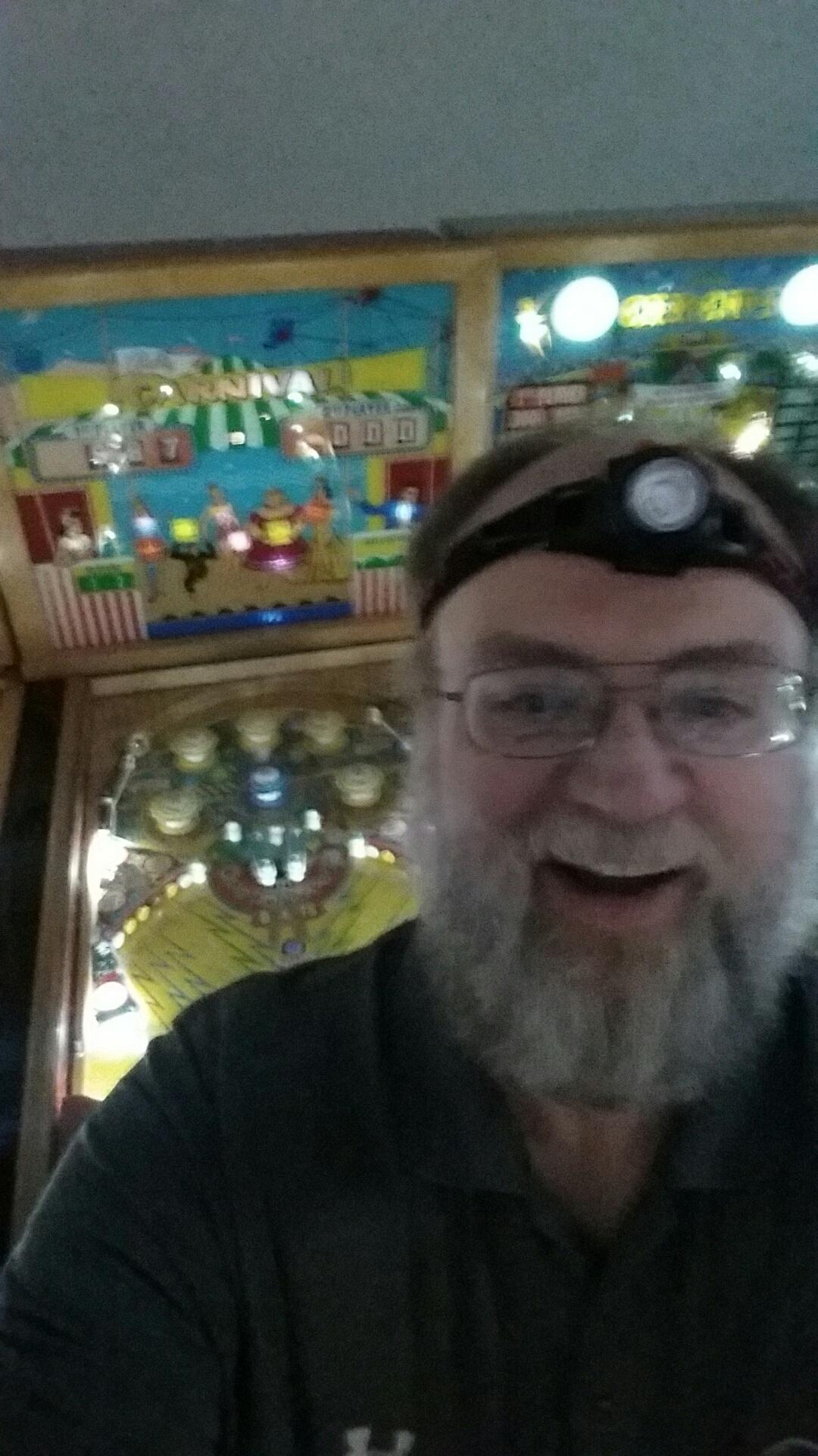 Carnival [1957 Pinball] 887 points