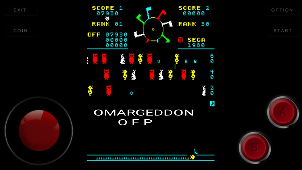 omargeddon: Carnival (Arcade Emulated / M.A.M.E.) 7,930 points on 2016-09-18 23:45:10