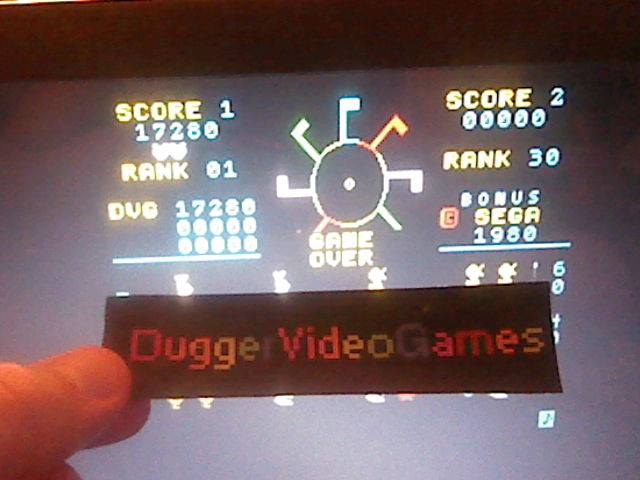 DuggerVideoGames: Carnival (Arcade Emulated / M.A.M.E.) 17,280 points on 2017-07-30 00:59:30