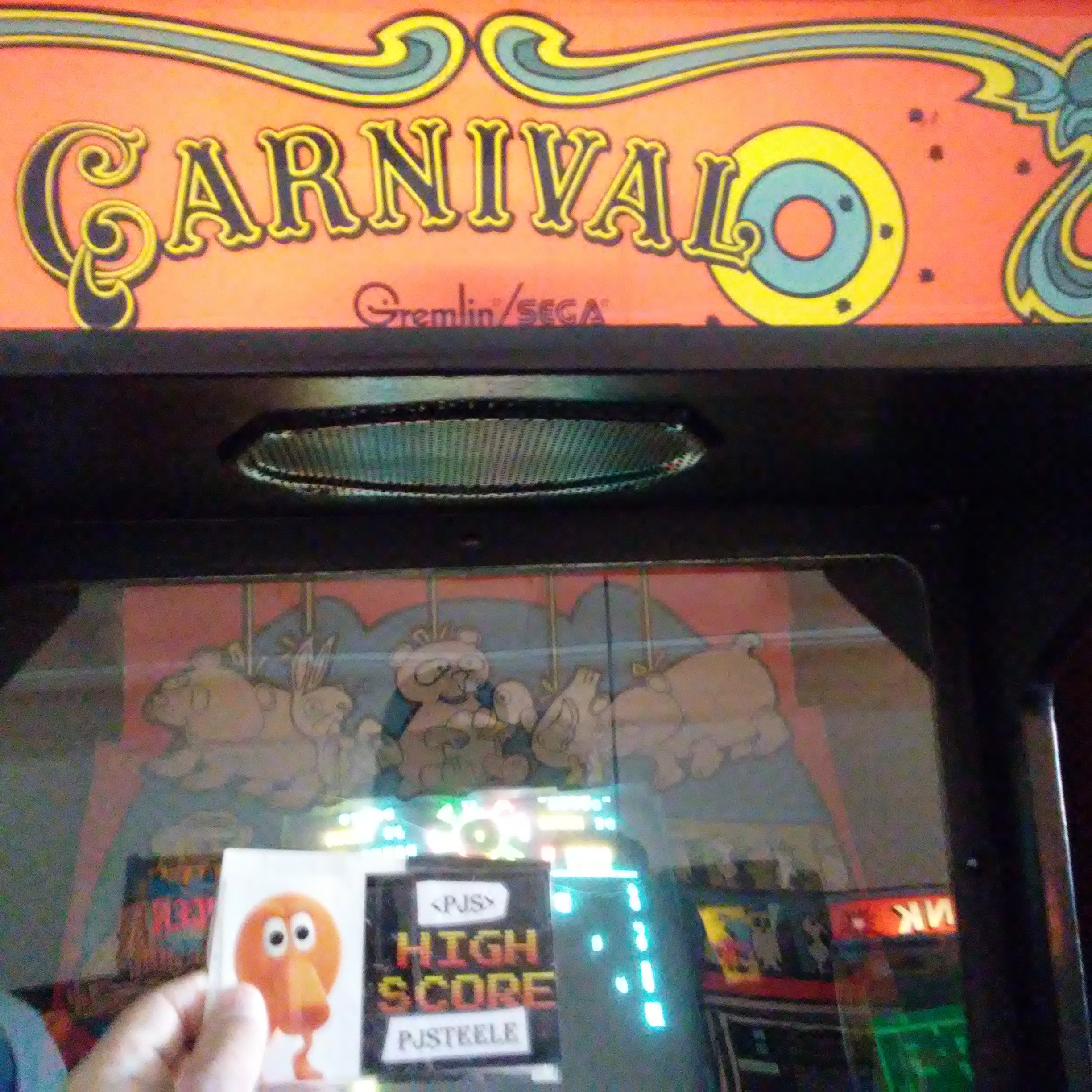 Carnival 4,720 points