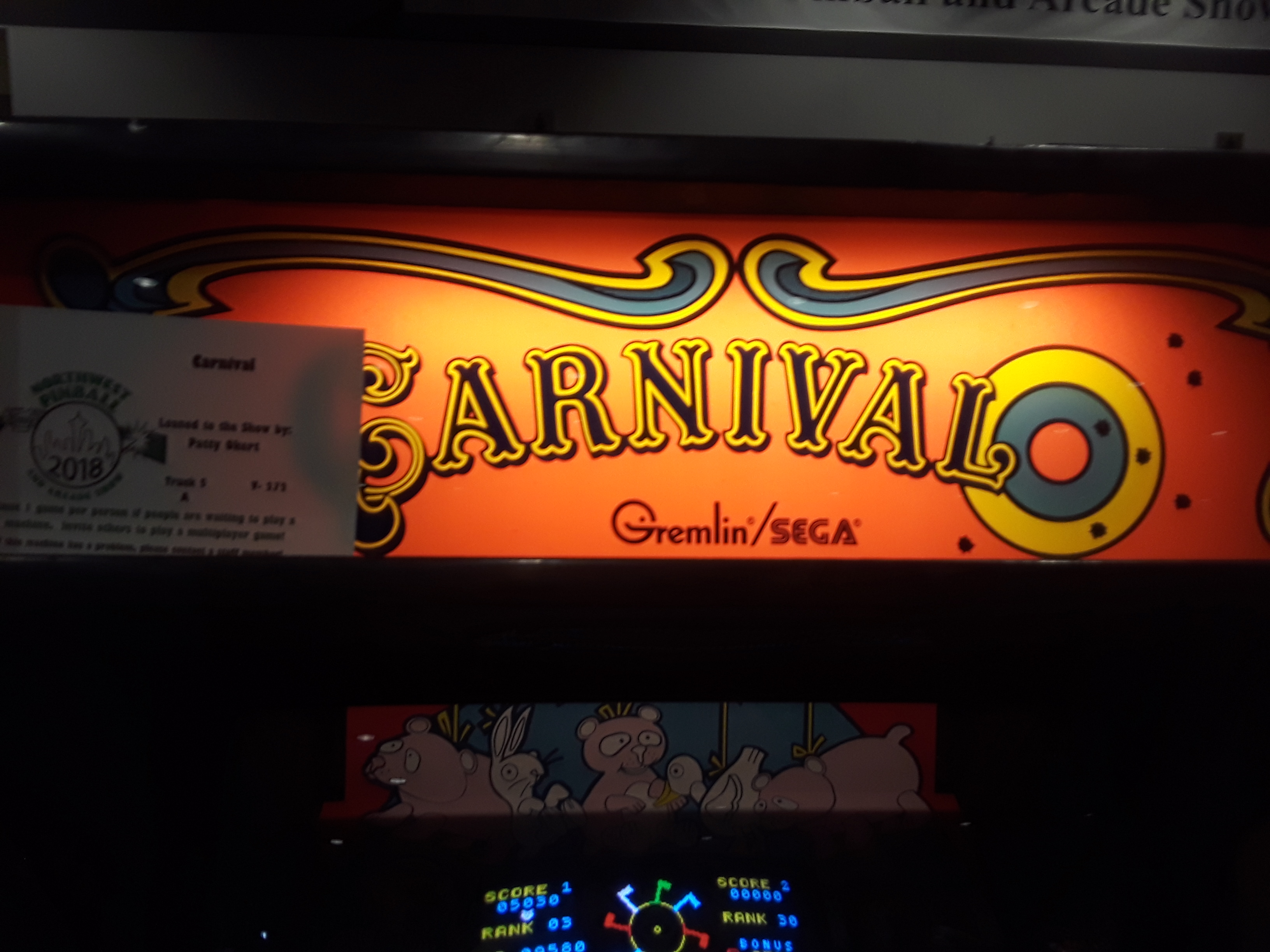 Carnival 1,160 points