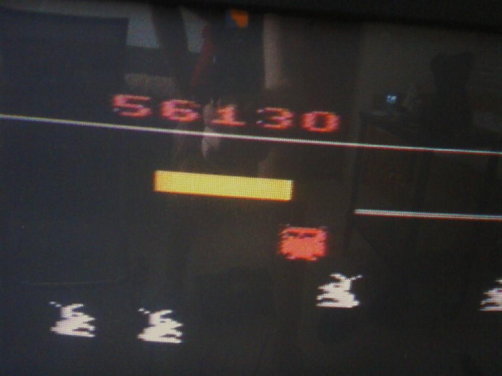 MisterVCS: Carnival (Atari 2600 Novice/B) 56,130 points on 2016-01-24 09:35:22
