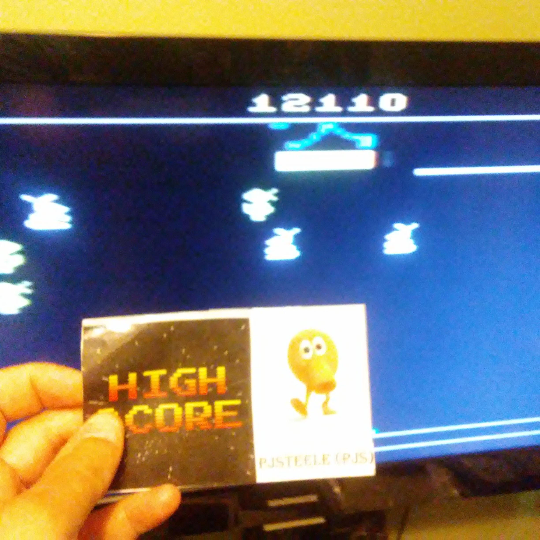 Pjsteele: Carnival (Atari 2600 Novice/B) 12,110 points on 2018-07-22 10:41:06