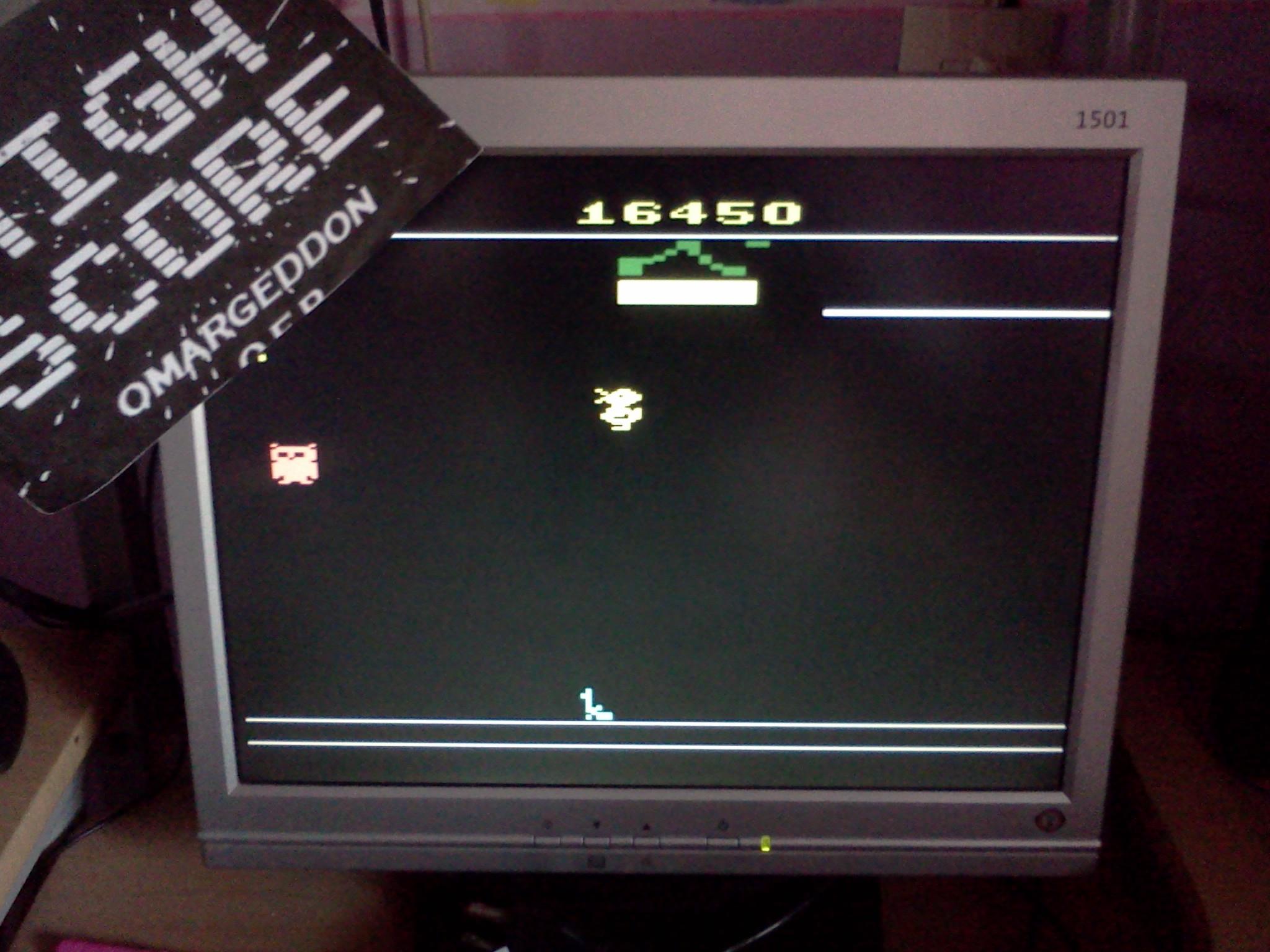 omargeddon: Carnival (Atari 2600 Emulated Novice/B Mode) 16,450 points on 2016-08-31 17:19:55