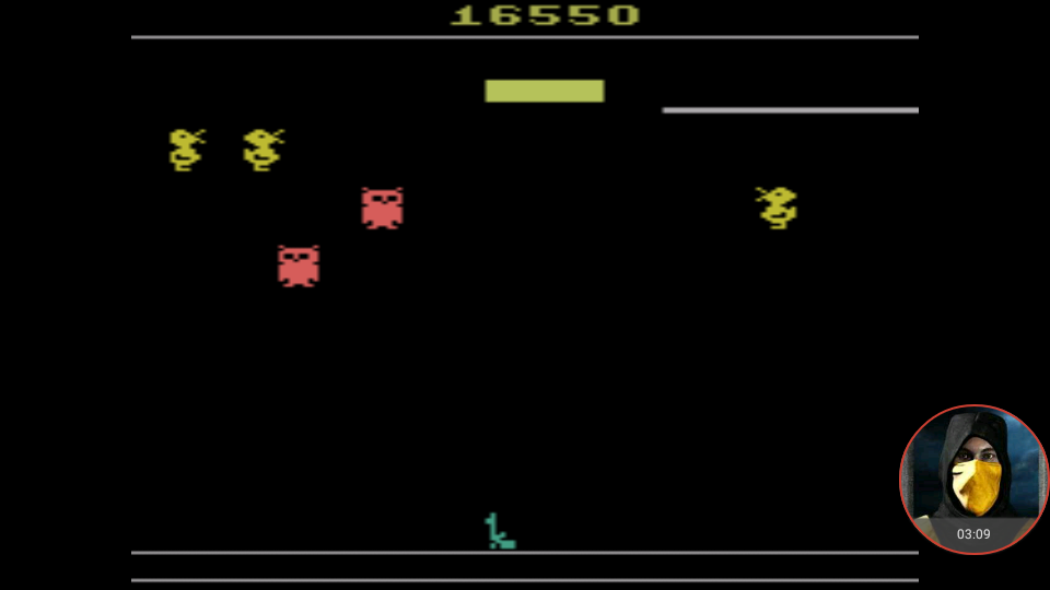 omargeddon: Carnival (Atari 2600 Emulated Novice/B Mode) 16,550 points on 2018-01-14 21:58:24