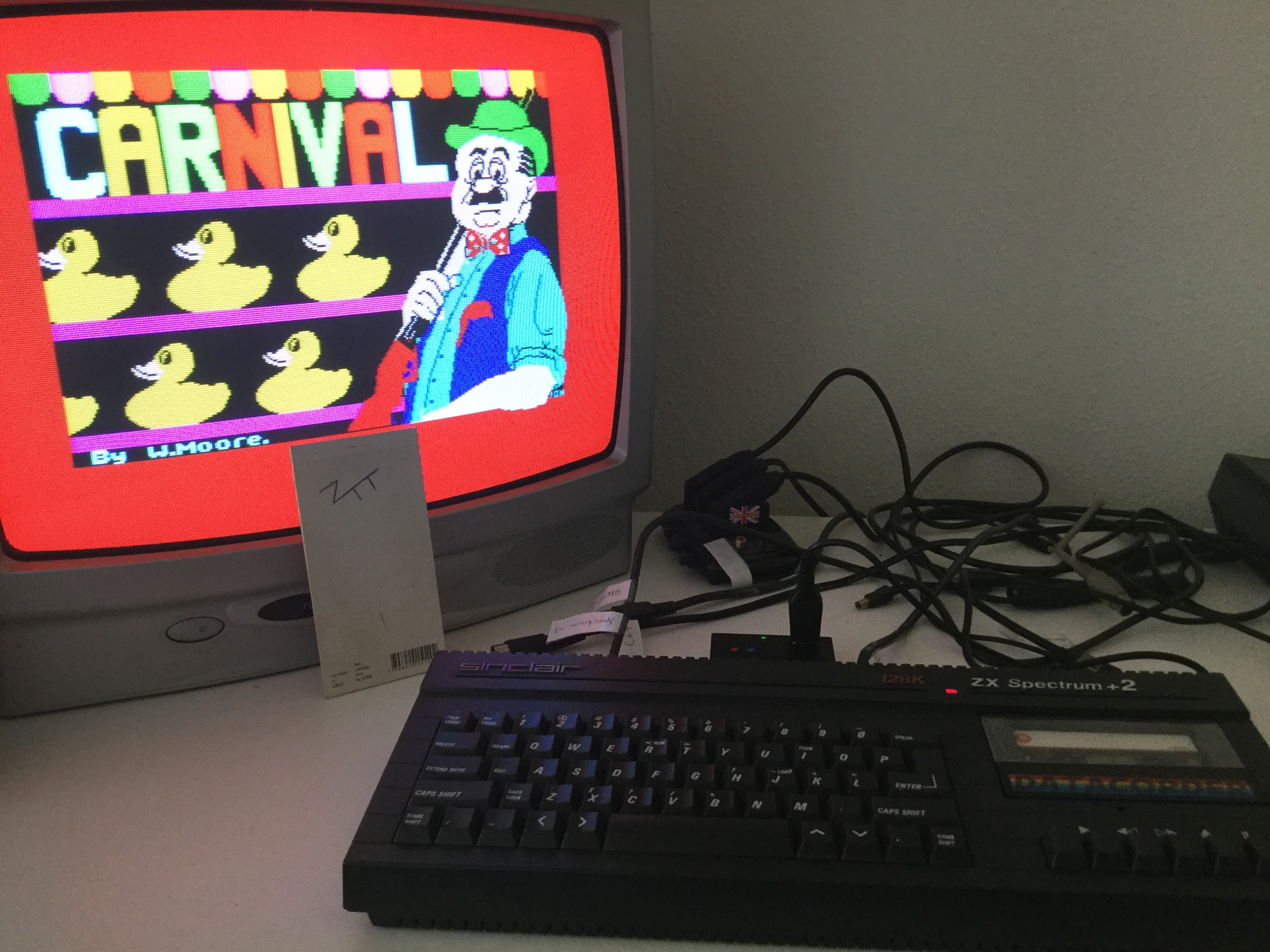 Frankie: Carnival [Eclipse Software] [Level 1] (ZX Spectrum) 25,970 points on 2018-08-05 06:13:38
