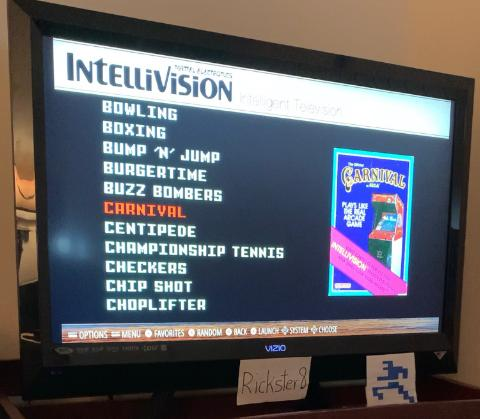 Rickster8: Carnival: Skill 2 (Intellivision Emulated) 100,020 points on 2021-02-25 00:10:08