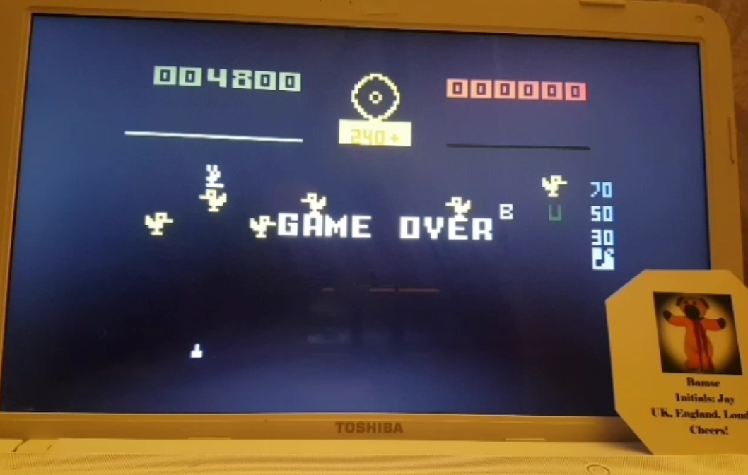 Bamse: Carnival: Skill 3 (Intellivision Emulated) 4,800 points on 2019-03-27 15:28:36