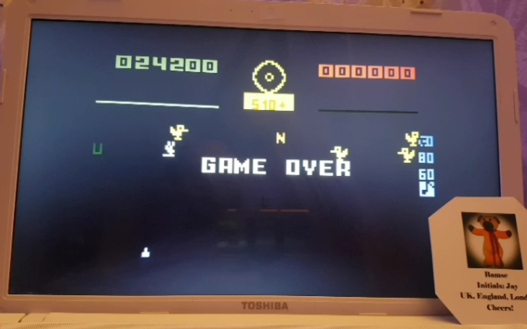 Bamse: Carnival: Skill 4 (Intellivision Emulated) 24,200 points on 2019-03-27 15:32:32