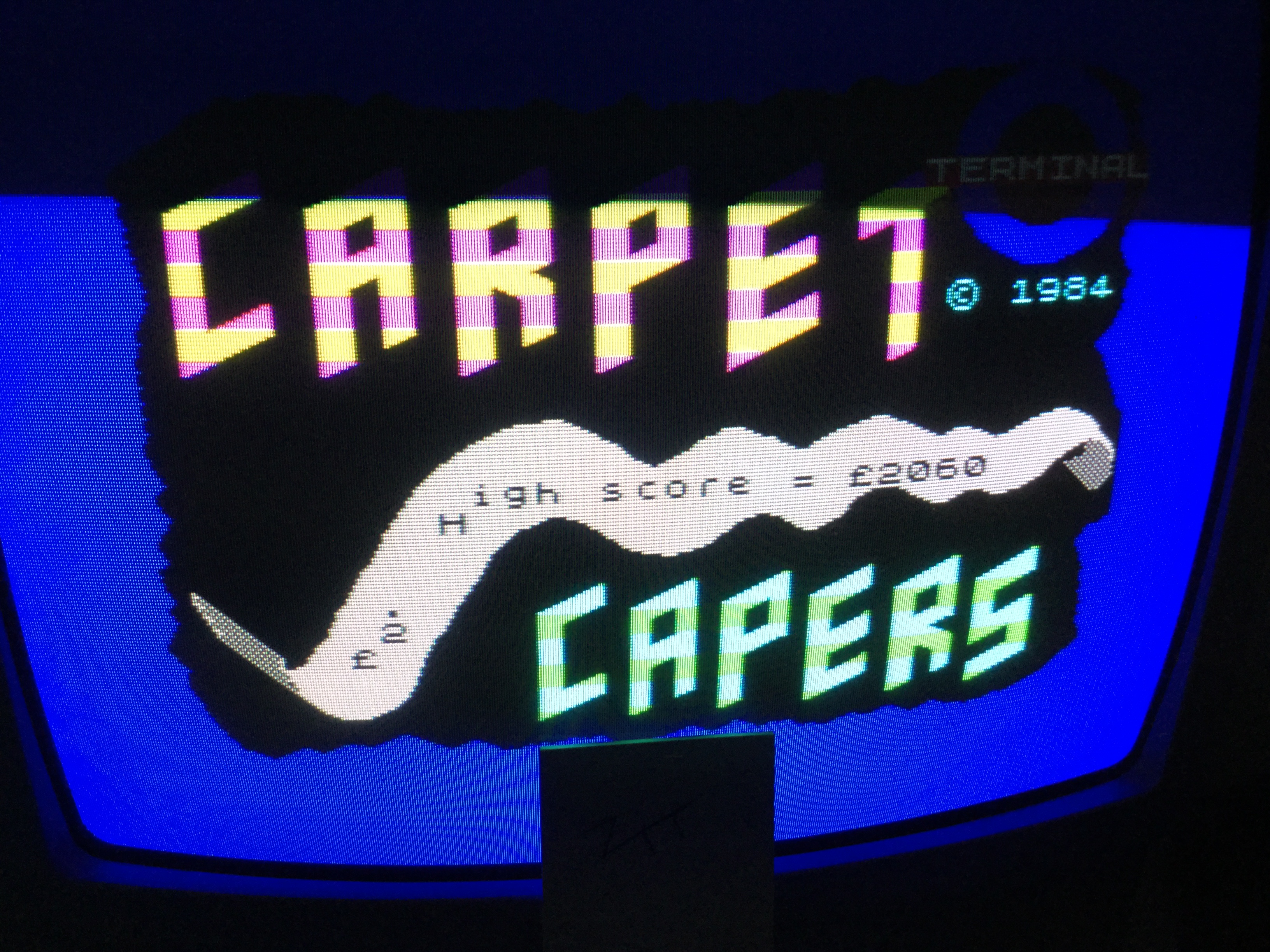 Frankie: Carpet Capers (ZX Spectrum) 2,060 points on 2019-04-09 12:47:01