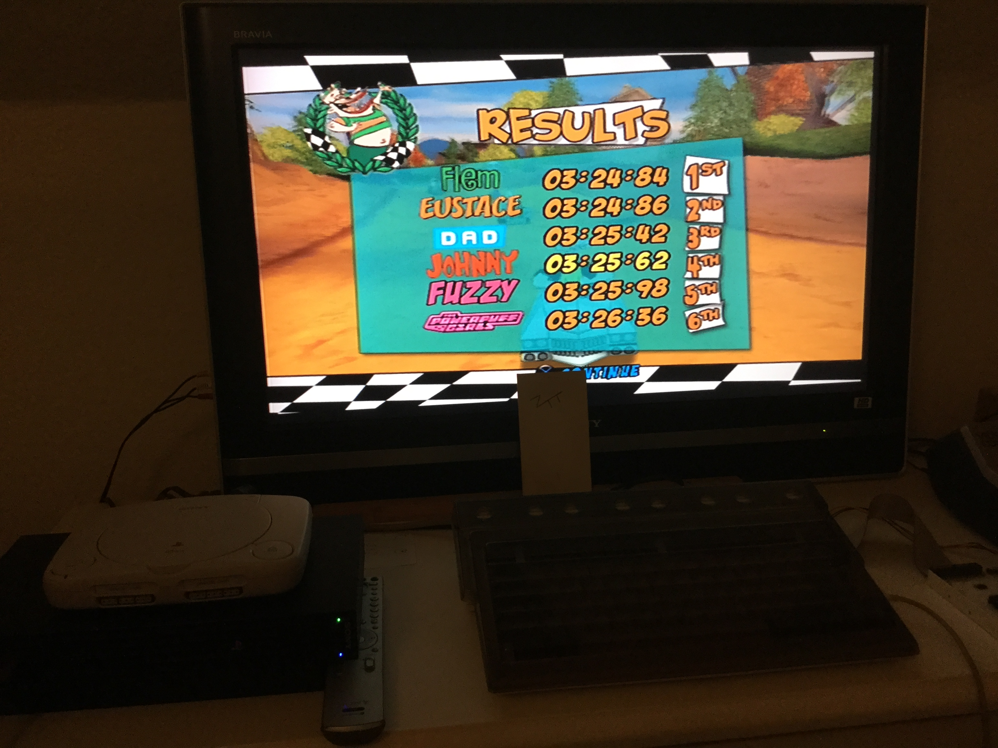 Frankie: Cartoon Network Racing: Quick Race: The Farm [3 Laps] (Playstation 2) 0:03:25.62 points on 2019-08-04 23:39:40