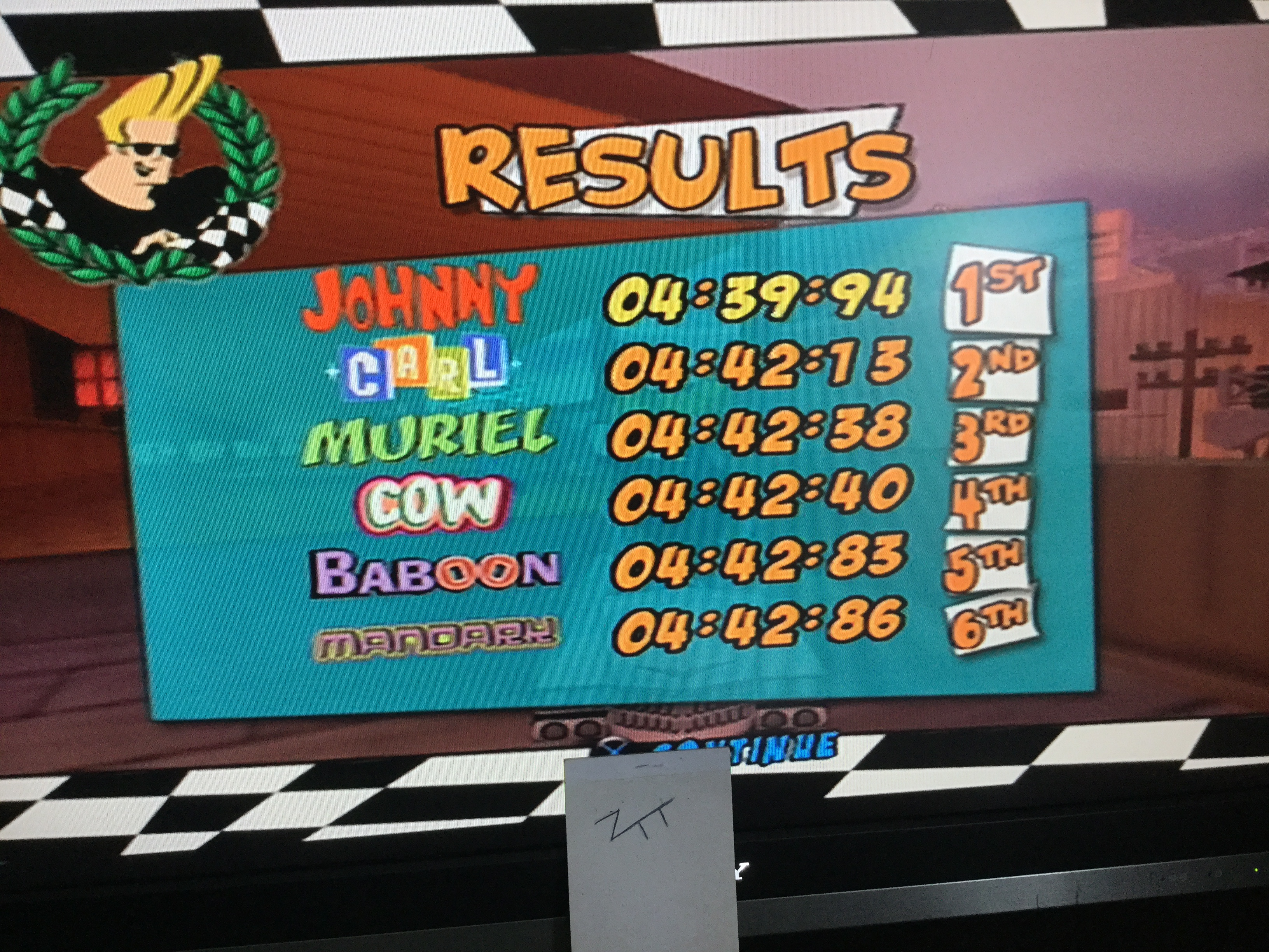 Frankie: Cartoon Network Racing: Quick Race: The Wild West [3 Laps] (Playstation 2) 0:04:39.94 points on 2019-08-08 06:32:56