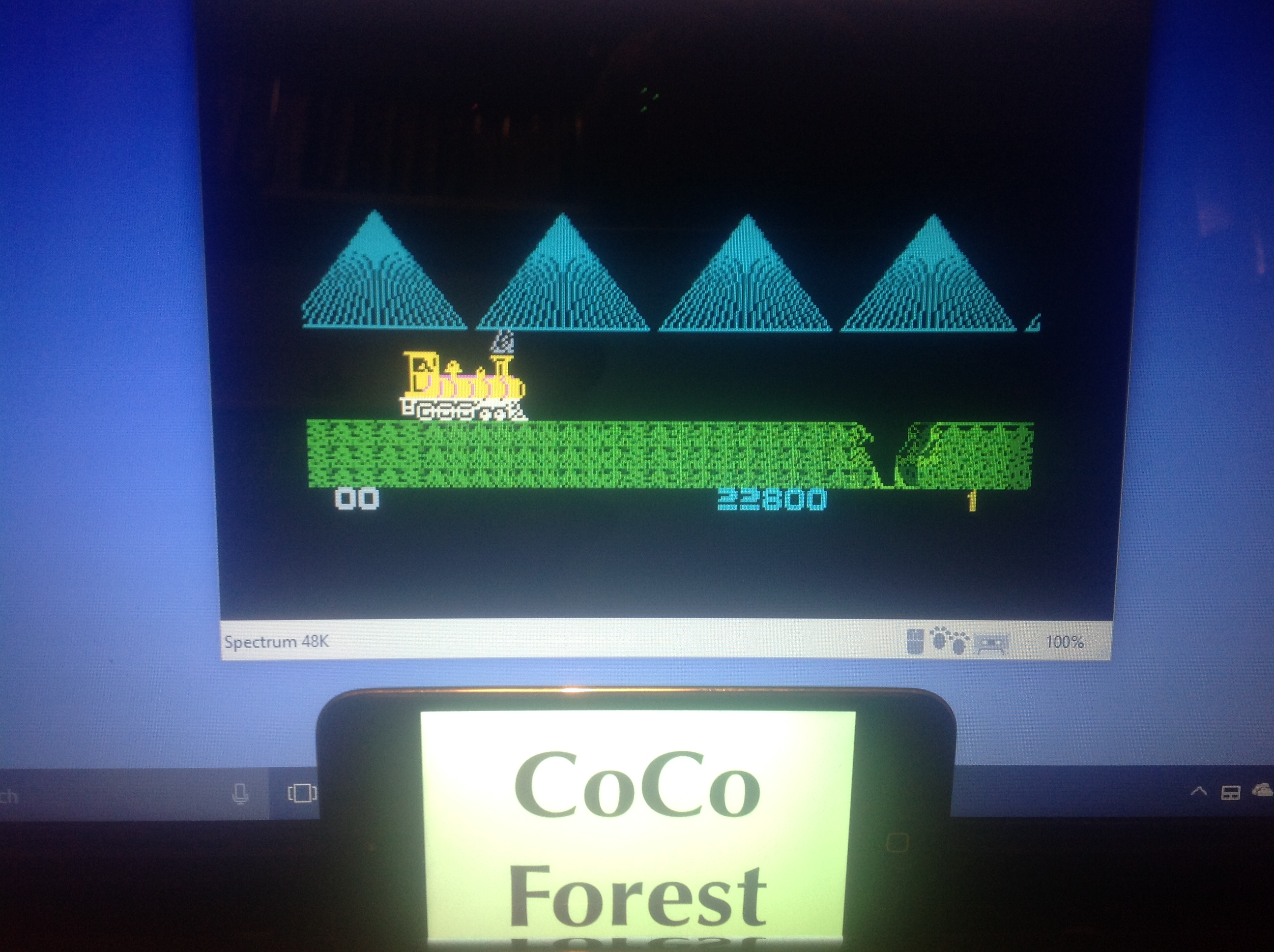 CoCoForest: Casey Jones (ZX Spectrum Emulated) 22,800 points on 2018-01-16 13:30:06