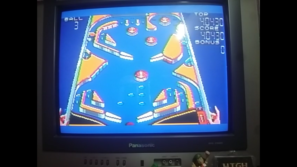 omargeddon: Casino Games: Pinball [Gentle] (Sega Master System) 40,430 points on 2018-08-18 12:37:54